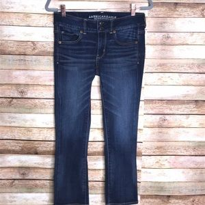 American Eagle Outfitters Artist Crop Jeans Size 4